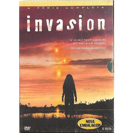 Box DVD - Invasion - A Série Completa - 06 Discos