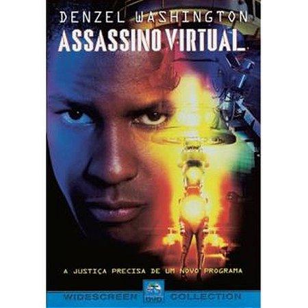 Dvd - Assassino Virtual - Denzel Washington
