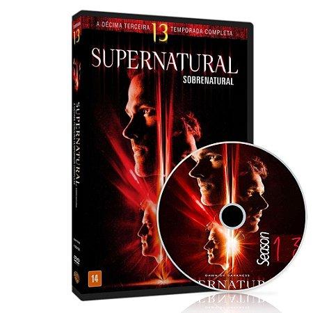 Dvd Box - 13 Temporada - Supernatural - 5 Discos