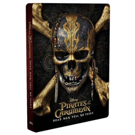 Steelbook Blu-Ray 3d Piratas do Caribe A Vingança de Salazar