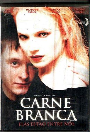 Dvd - Carne Branca - Eles Estão Entre Nós - Frédéric Pierre
