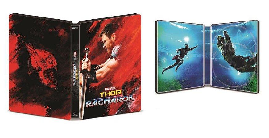 Thor - Ragnarok - Steelbook (Blu-Ray 3D - Blu-Ray)