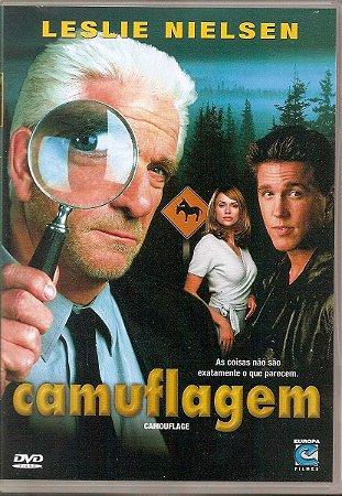 Dvd Camuflagem - Leslie Nielsen
