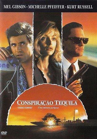 Dvd Conspiração Tequila - Mel Gbson