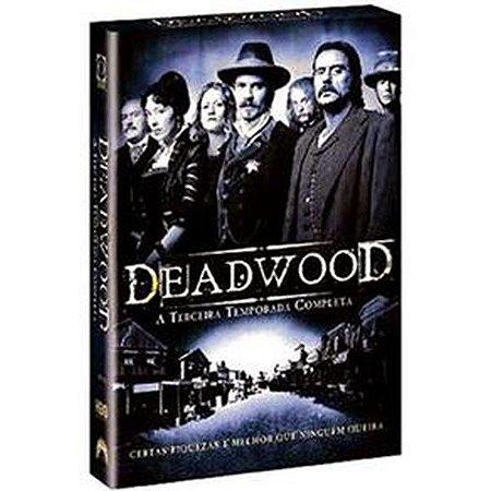 DVD - Deadwood: 3 Temporada - 6 Discos