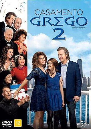 Dvd Casamento Grego 2 - Nia Vardalos