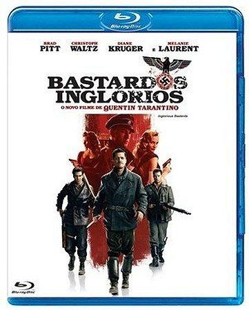 Blu ray - Bastardos Inglórios - Brad Pitt