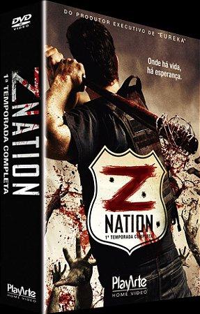 Box Dvd Z Nation - 1 Temporada - 4 Discos