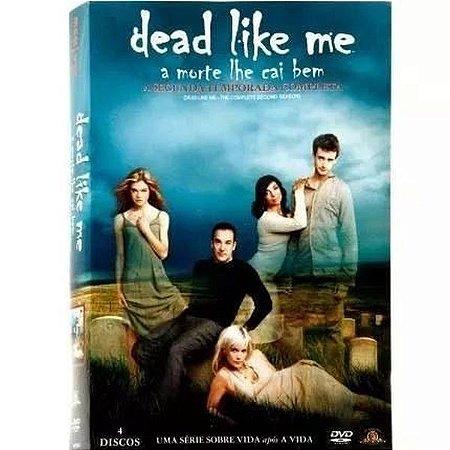Dvd - Dead Like Me A Morte Lhe Cai Bem - 2 Temp. - 4 Discos
