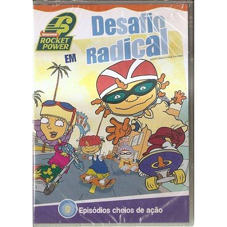 Dvd - Rocket Power Em Desafio Radical
