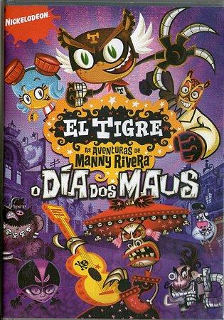 Dvd - El Tigre As Aventuras De Manny Rivera - O Dia Dos Maus