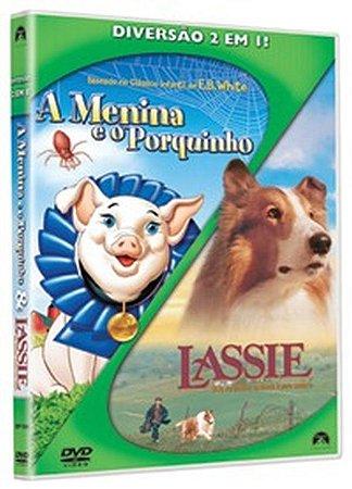 Dvd - A Menina E O Porquinho / Lassie