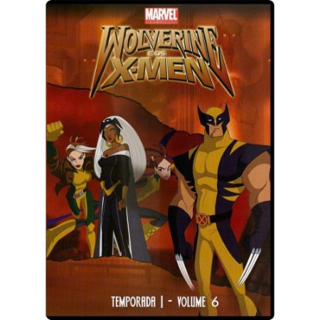 Dvd - Wolverine E Os X-Men - Temp. 1 - Vol.6