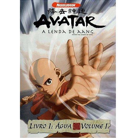 Dvd - Avatar A Lenda De Aang - Livro 1: Àgua - Volume 1