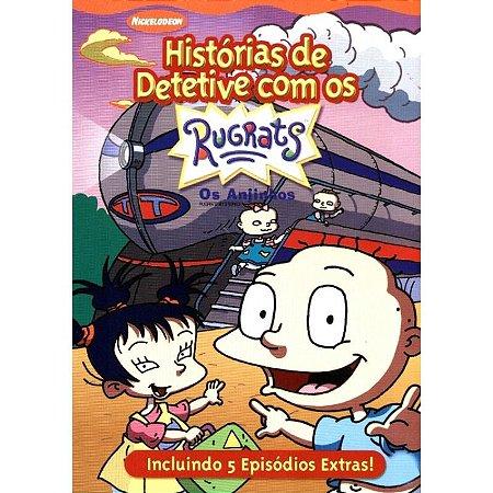 Dvd -Rugrats: Histórias De Detetive - Os Anjinhos