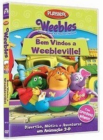 Dvd - Weebles: Bem Vindos A Weebleville