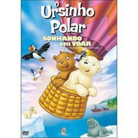 Dvd - O Ursinho Polar Sonhando Em Voar