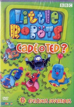 Dvd - Little Robots - Cadê O Ted