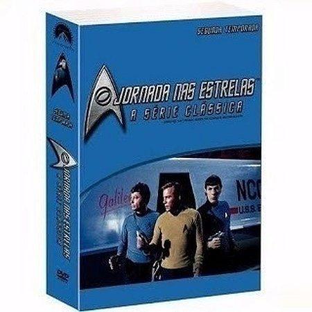 Box Dvd - Jornada Nas Estrelas - A Série Clássica 2 Temp.
