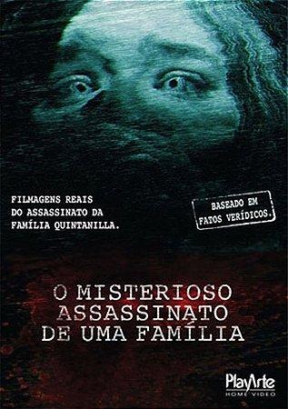 Dvd - O misterioso assassinato de uma família