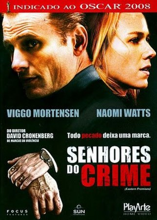 Dvd - Senhores do crime