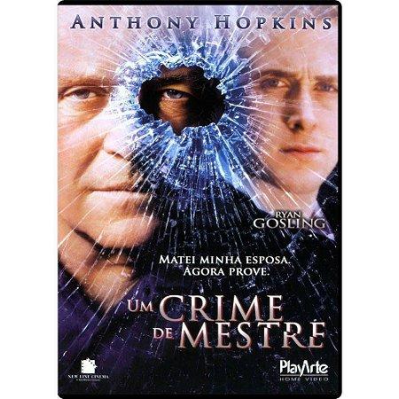Dvd - Um Crime de Mestre