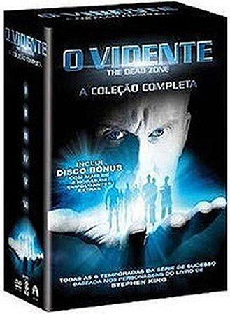 Dvd - Box O Vidente - The Dead Zone - A Coleção Completa