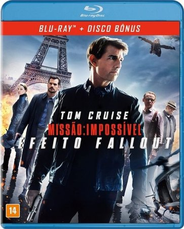 Blu ray duplo - Missão Impossível - Efeito Fallout