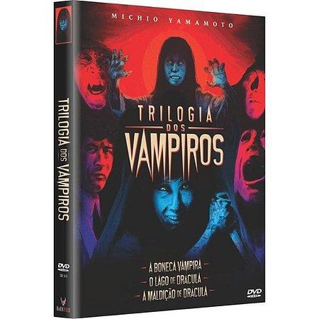 DVD Trilogia Dos Vampiros (3 DVDs) - Embalagem Digipak