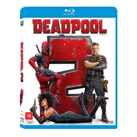 Blu-Ray - Deadpool 2 - Ryan Reynolds