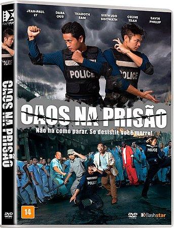 Dvd - Caos na Prisão