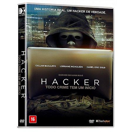 Dvd - Hacker - Todo Crime Tem Um Inicio