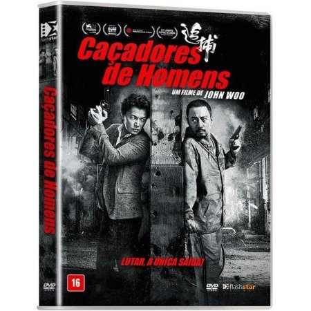 Dvd - Caçadores De Homens