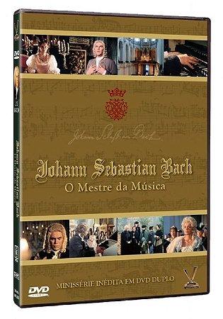 Dvd Johann Sebastian Bach, O Mestre da Música - Minissérie