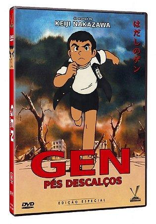 Dvd Gen - Pés Descalços - Edição Especial - Mori Masaki