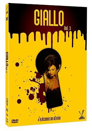 Dvd - Giallo - Volume 3 - (2 DVDs) - Versátil