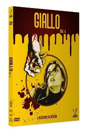 Dvd Giallo Vol. 4 -  (2 DVDs) - Versátil