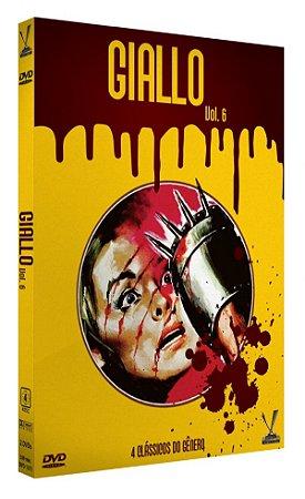 Dvd - Giallo - Volume 6 - (2 DVDs) - Versátil
