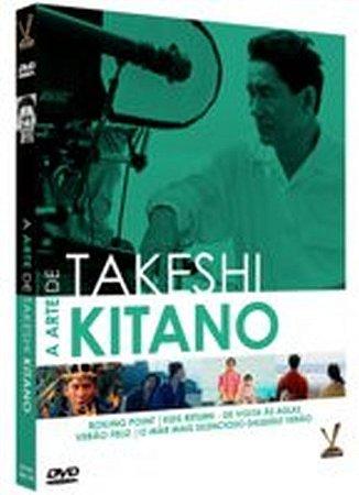 Dvd - A Arte de Takeshi Kitano - Edição Limitada - 2 Discos