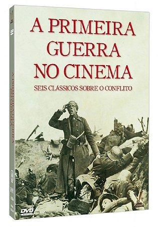 Dvd - A Primeira Guerra no Cinema - 3 Discos