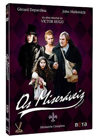 Dvd - Os Miseráveis - Minissérie - 2 Discos