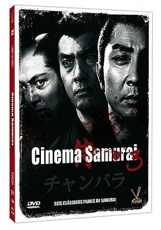 Dvd - Cinema Samurai - Vol. 3 - 3 Discos