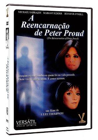 Dvd - A Reencarnação de Peter Proud