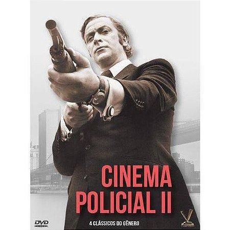Dvd - Cinema Policial Vol. 2.  - 2 Discos