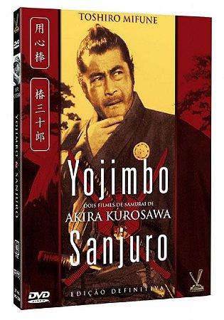 Dvd - Yojimbo & Sanjuro - Edição Definitiva