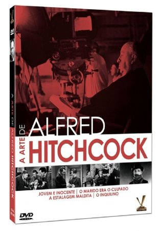 Dvd - A Arte de Alfred Hitchcock - 2 Discos