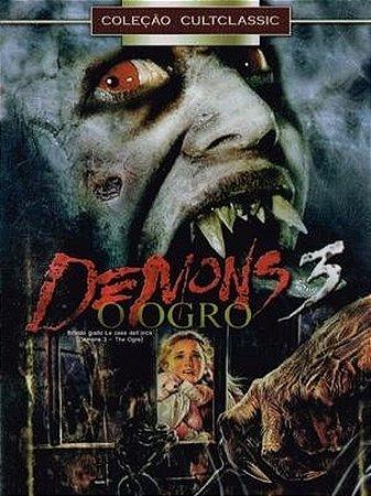 Dvd - Demons 3 - O Ogro - Lamberto Bava