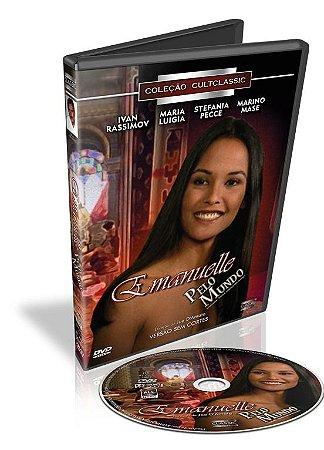 Dvd - Emanuelle Pelo Mundo - Joe D'Amato