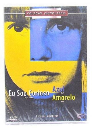 Dvd  Eu Sou Curiosa Azul / Amarelo  Vilgot Sjöman