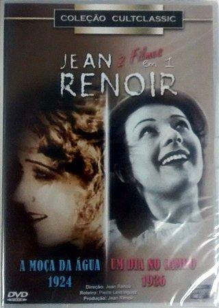 Dvd-  Jean Renoir - Um Dia No Campo / A Moça Da Água